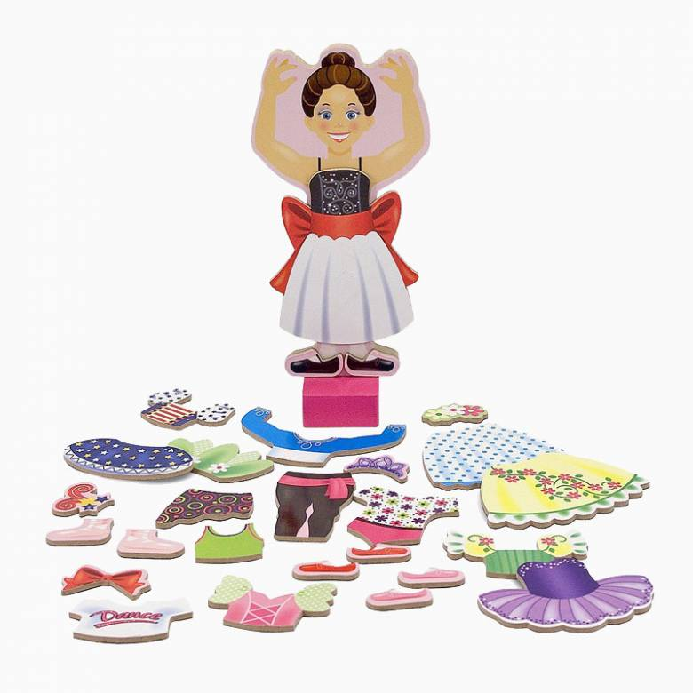 Nina Ballerina Magnetic Dress-Up Set 3+