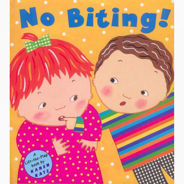 No Biting! - Hardback Book