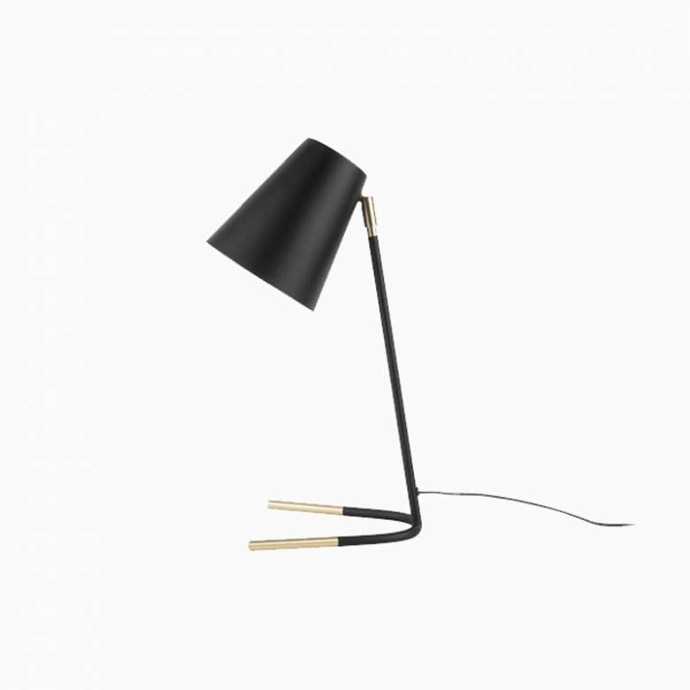 Noble Black And Gold Metal Table Lamp