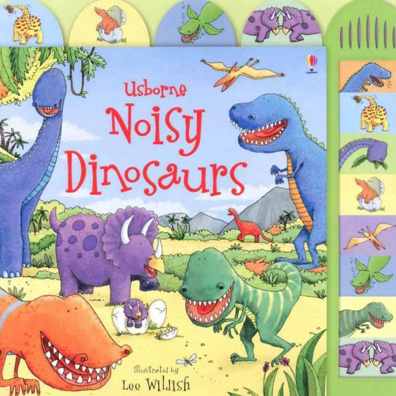 Noisy Dinosaur Sound Book Hardback Book