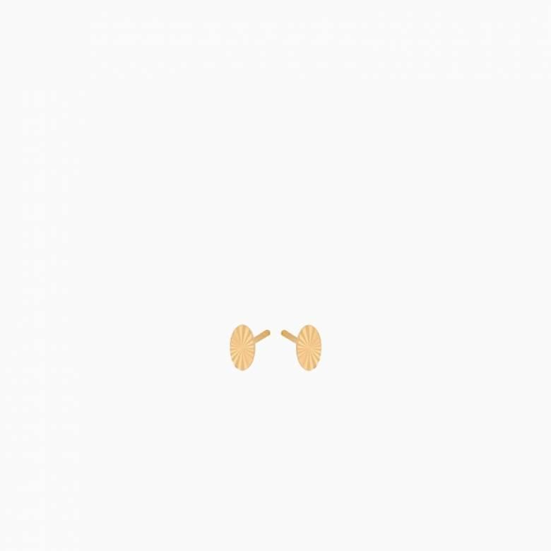 Ocean Stars Stud Earrings In Gold By Pernille Corydon