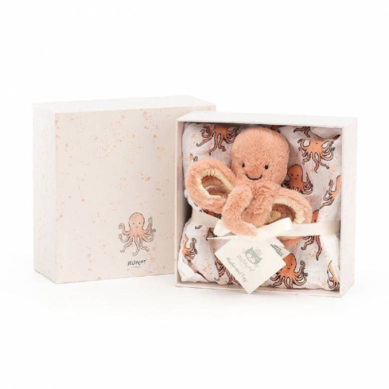 Odell Octopus Gift Set By Jellycat
