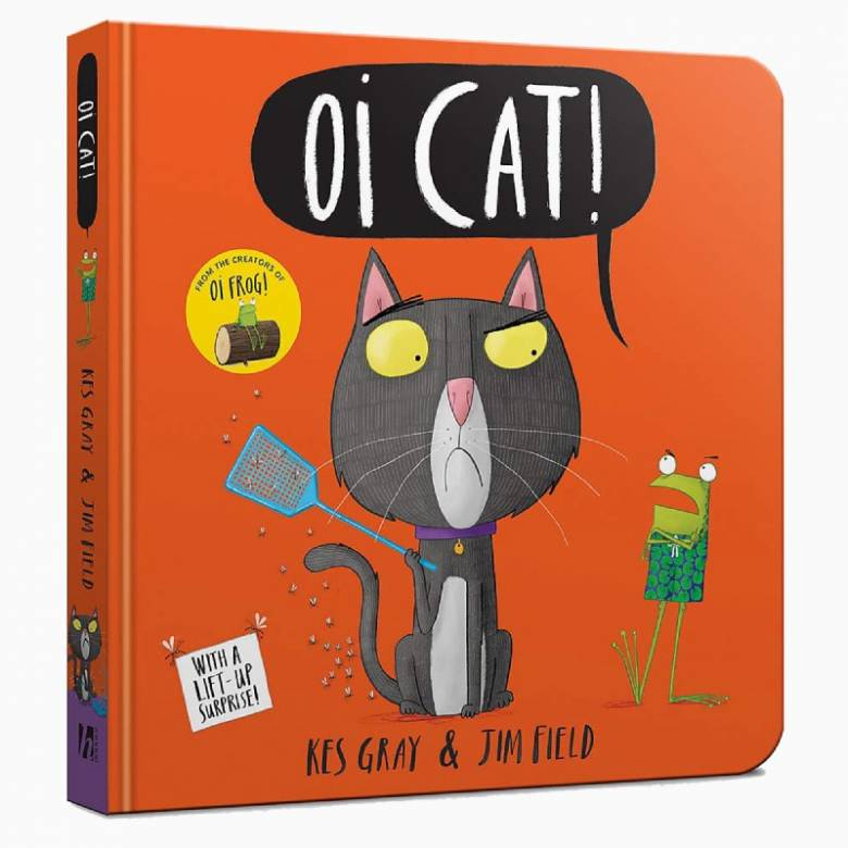 Oi Cat - Board Book