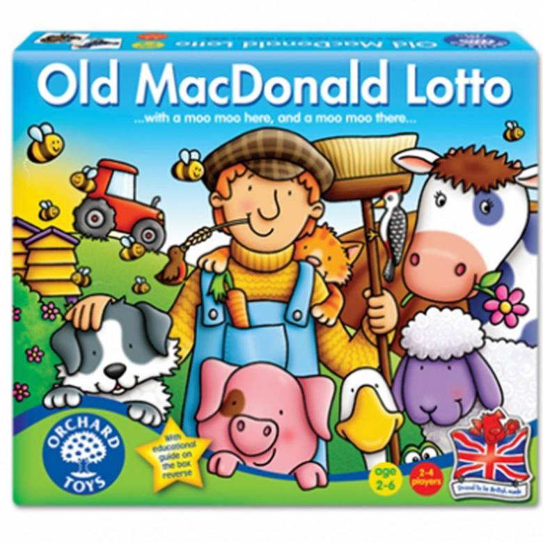 Old Macdonald Lotto Game by Orchard 2+