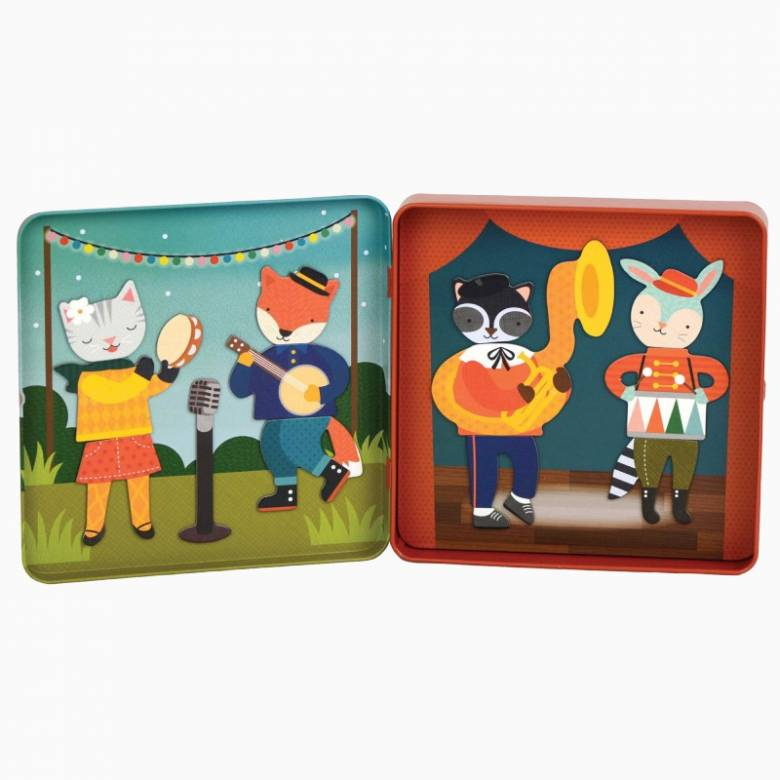 On The Go Animal Band Magnetic Play Set 3+