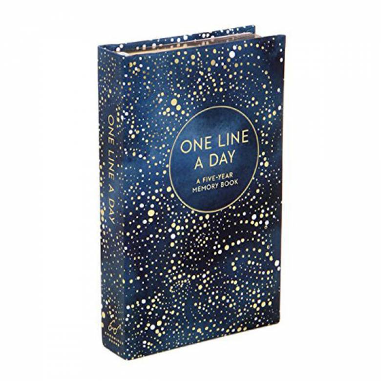 Celestial One Line A Day Five Year Memory Journal