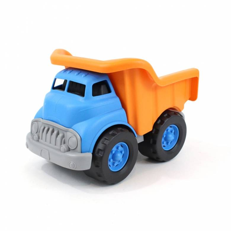 Orange & Blue Dump Truck - Green Toys Recycled Plastic 1+