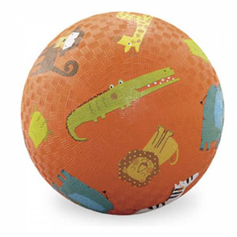 Orange Jungle Animal - Large Picture Ball