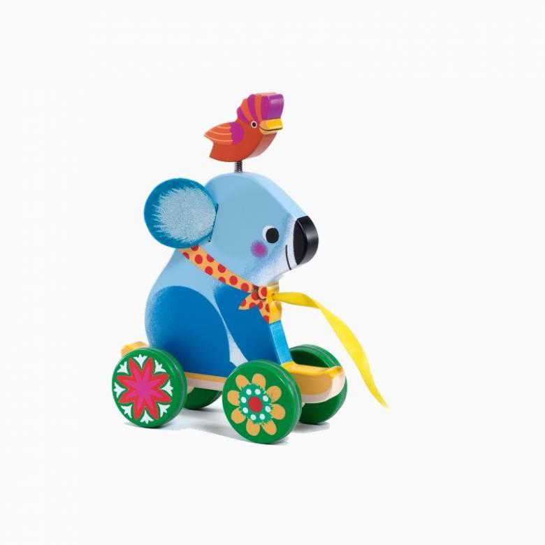 Otto The Koala Pull Along Wooden Toy 1+