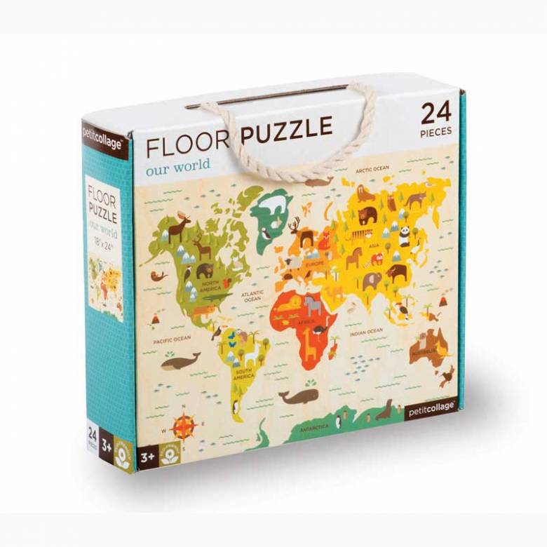 Our World Floor Puzzle 24pc 4+