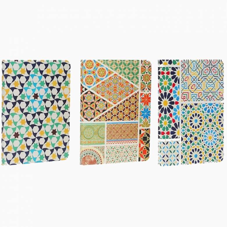 Owen Jones Designs Set Of 3 Mini Notebooks