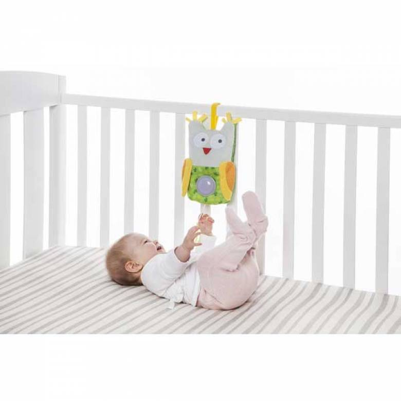 Owl Musical Sleepy Pal Cot Toy 0+