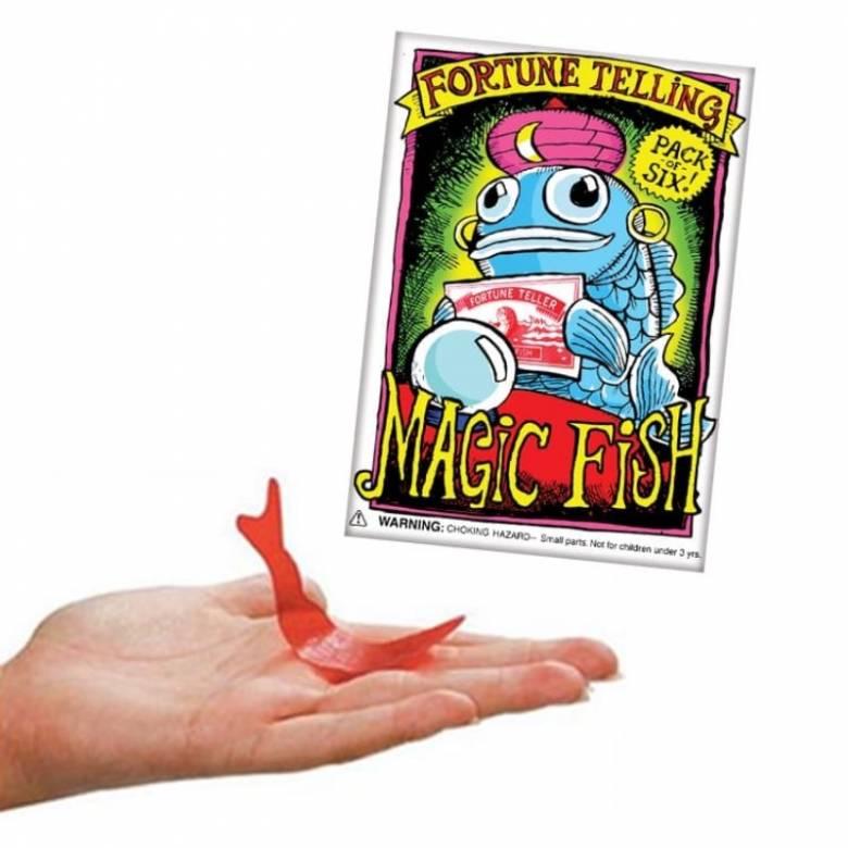 Pack Of 6 Magic Fortune Telling Fish