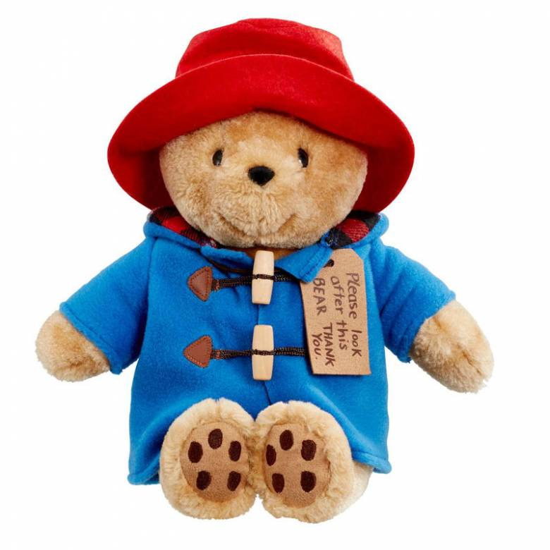 Paddington Bear With Tag Soft Toy 23cm