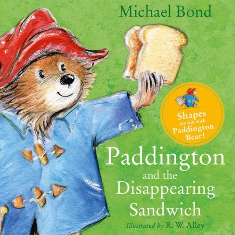 Paddington And The Disappearing Sandwich - Board Book