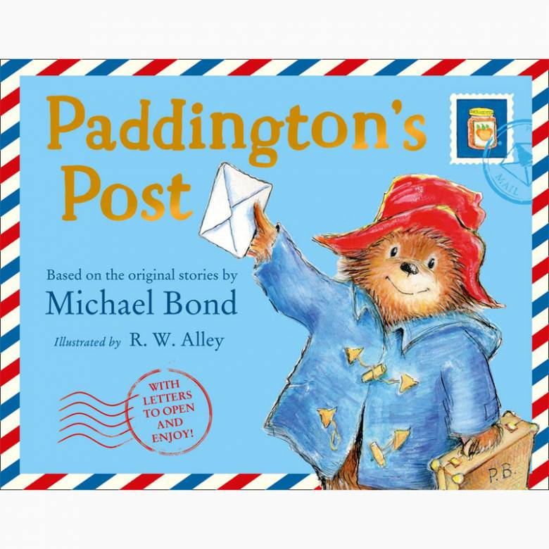 Paddington's Post - Hardback Book
