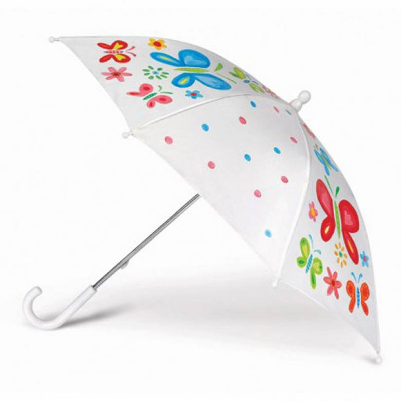 Paint Your Own Umbrella Set 5+