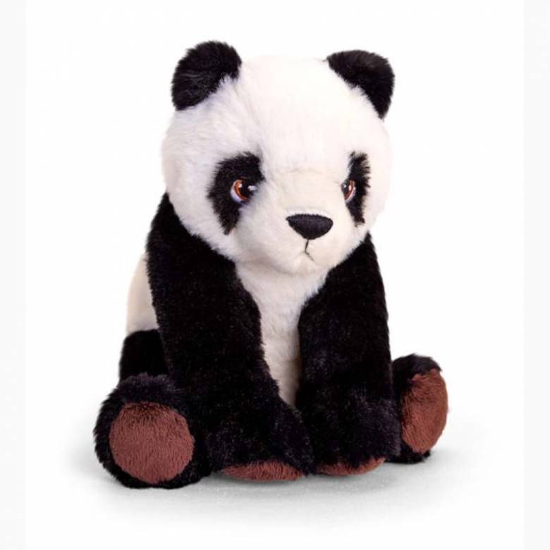 Panda Soft Toy - Made From Recycled Plastic 0+