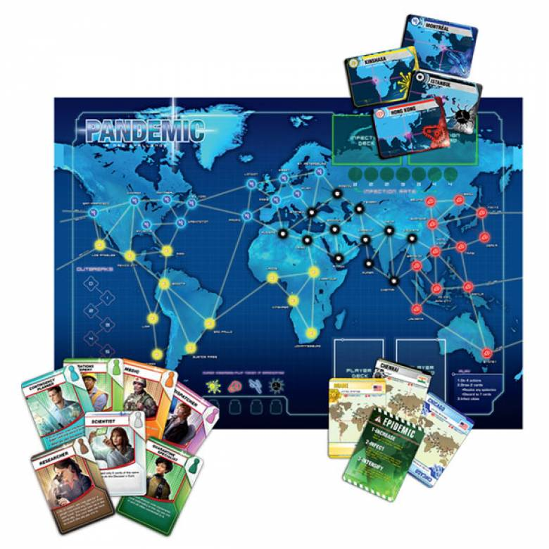 Pandemic Board Game 8+