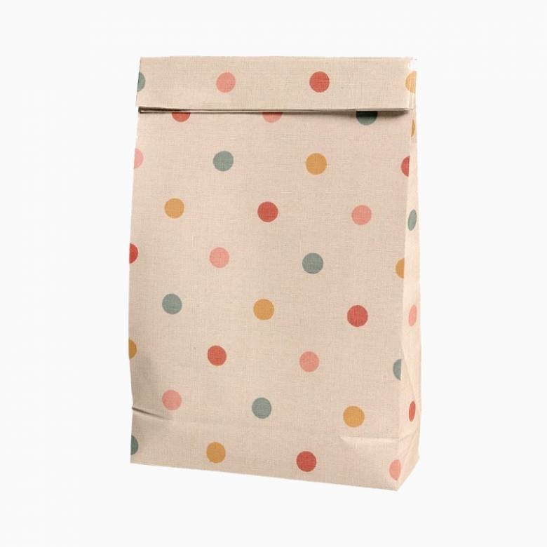 Maileg Paper Gift Bag With Spotty Dot Print