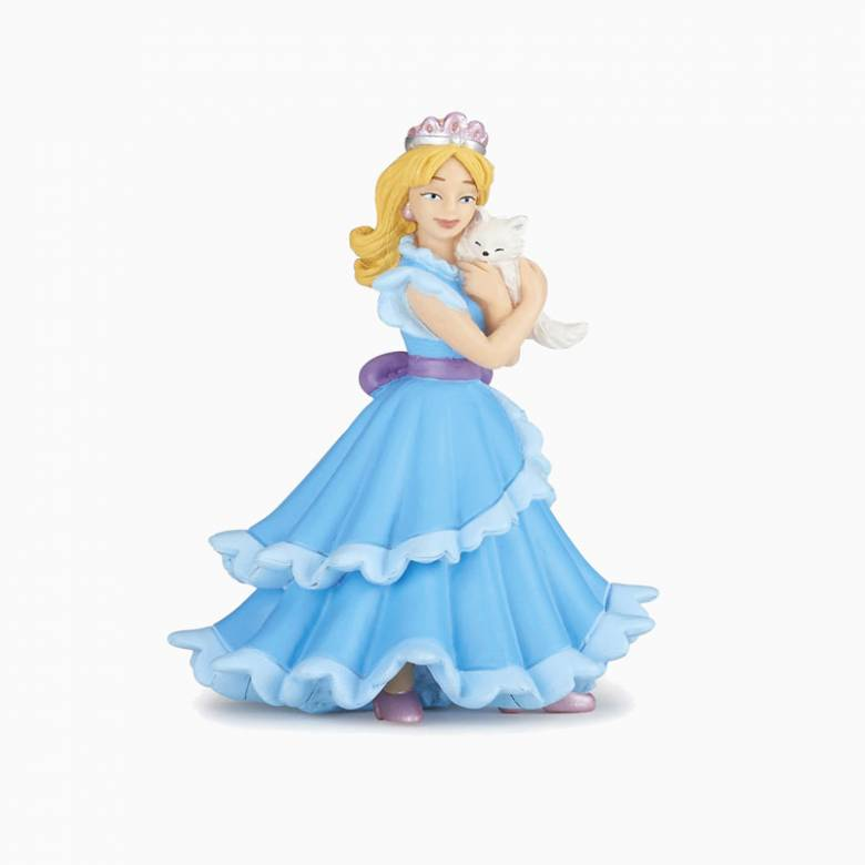 Blue Princess With Cat - Papo Princess Figure