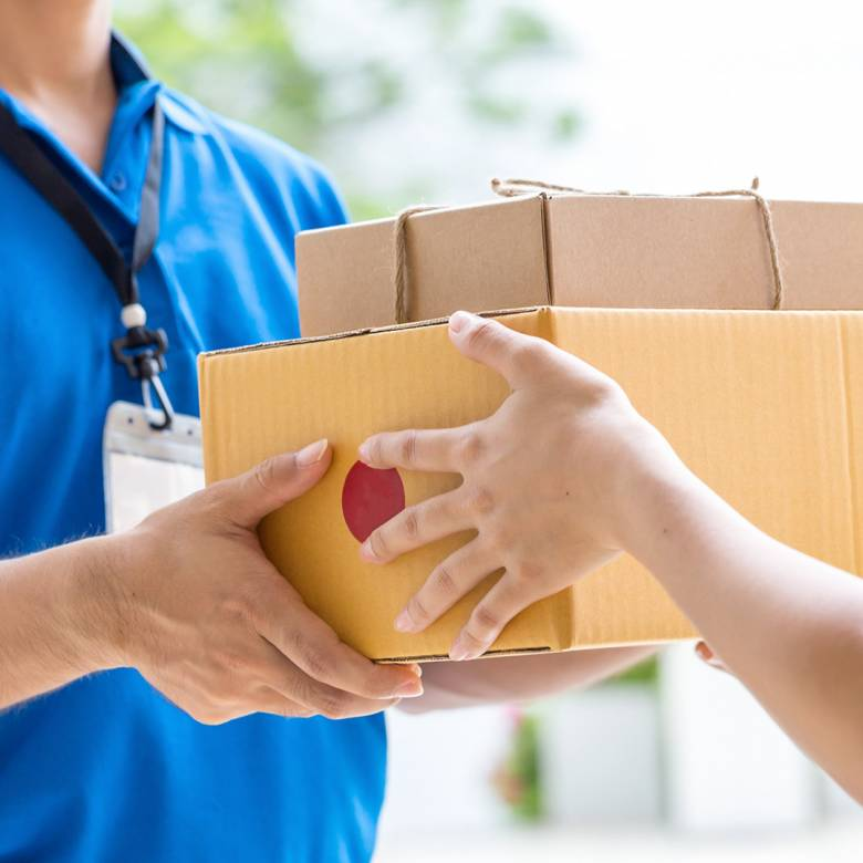 Swap from Click & Collect to Postal Delivery