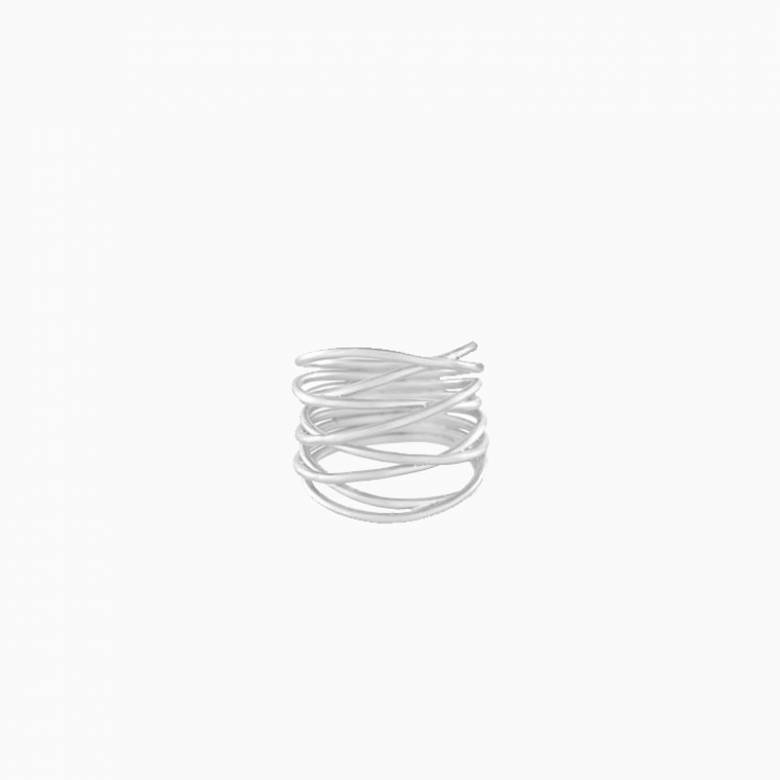 Paris Ring In Silver S55 By Pernille Corydon