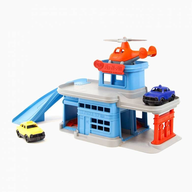 Parking Garage Recycled Plastic Toy By Green Toys 3+