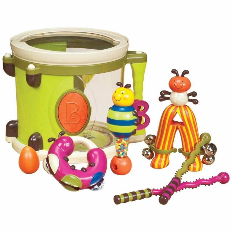 Drum Parum Pum Pum Musical Toy by Baby B - B. Toys