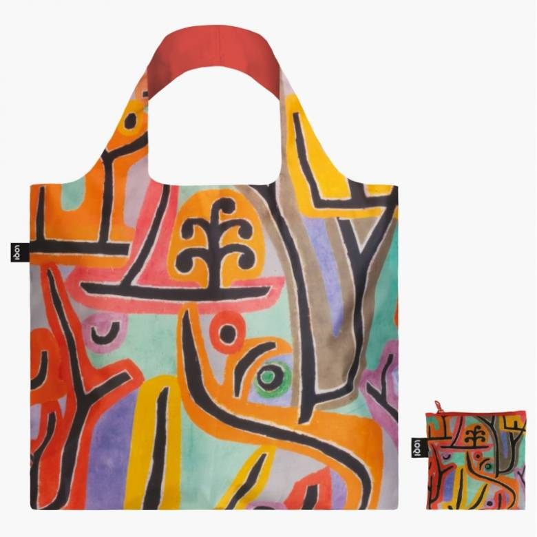 Paul Klee Park - Reusable Tote Bag With Pouch