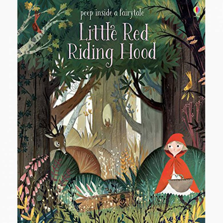 Peep Inside A Fairy Tale Little Red Riding Hood - Board Book