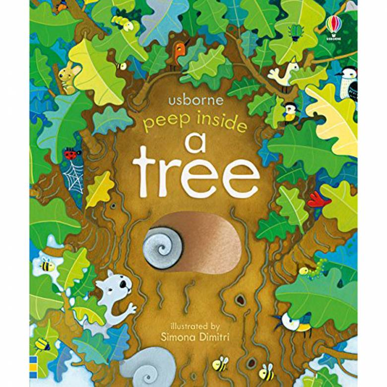 Peep Inside A Tree - Board Book