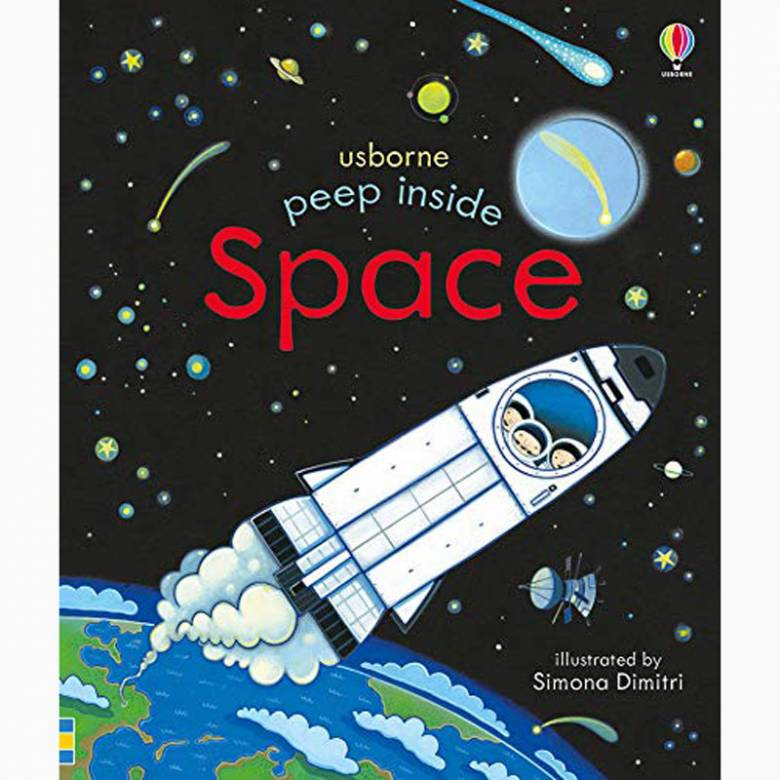 Peep Inside Space - Board Book
