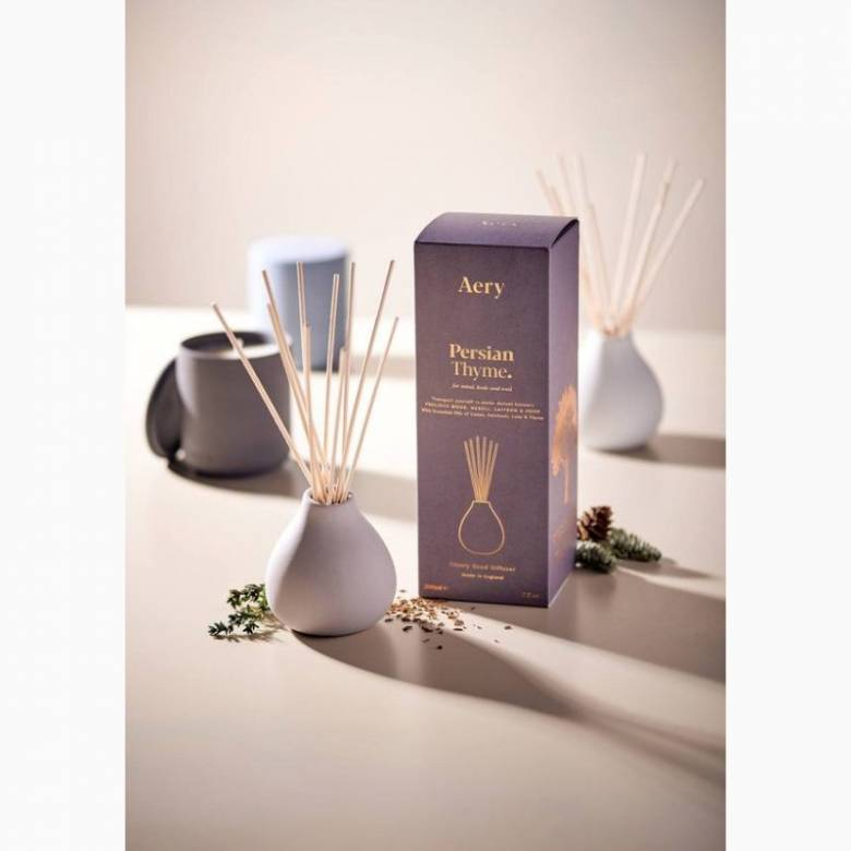 Persian Thyme - Reed Diffuser With Clay Pot By Aery