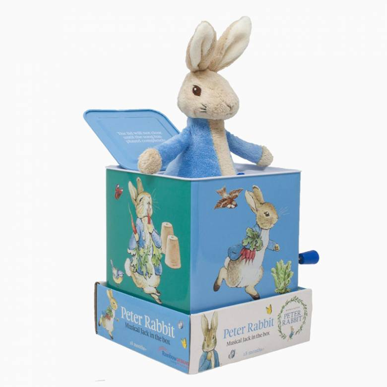 Peter Rabbit Jack In The Box 18m+