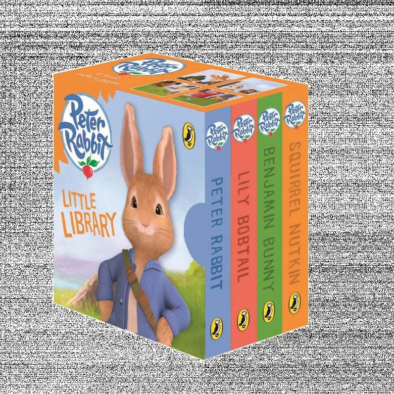 Peter Rabbit Litte Library Book Set - Film Edition