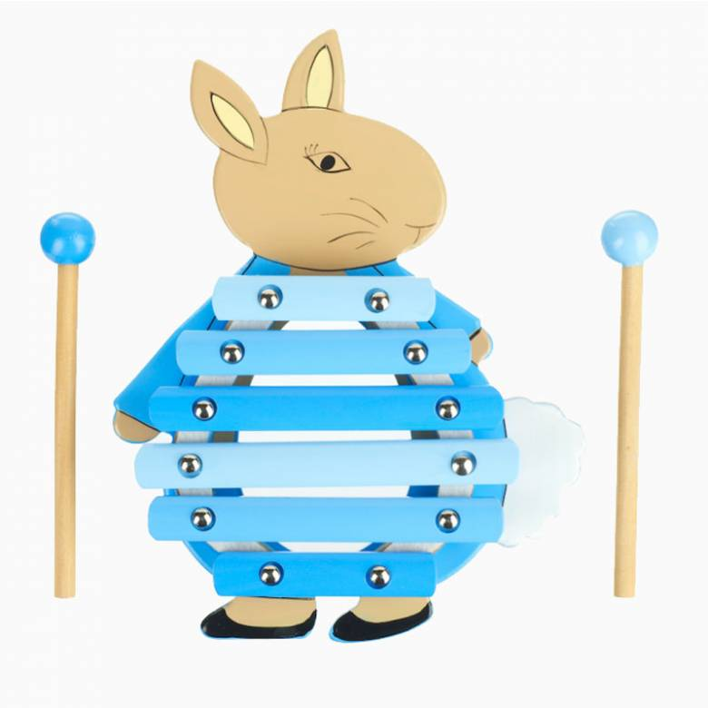 Peter Rabbit Wooden Xylophone By Orange Tree 1+