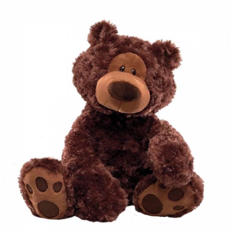 Philbin The Bear 45cm Gund Chocolate Brown Soft Toy