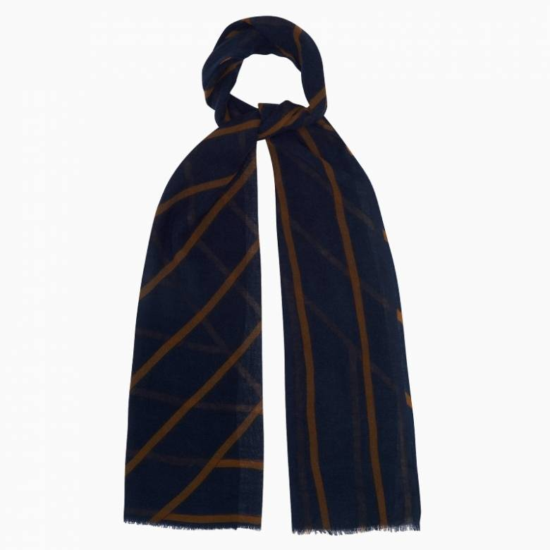 Piccadilly Wool Scarf By Jo Edwards