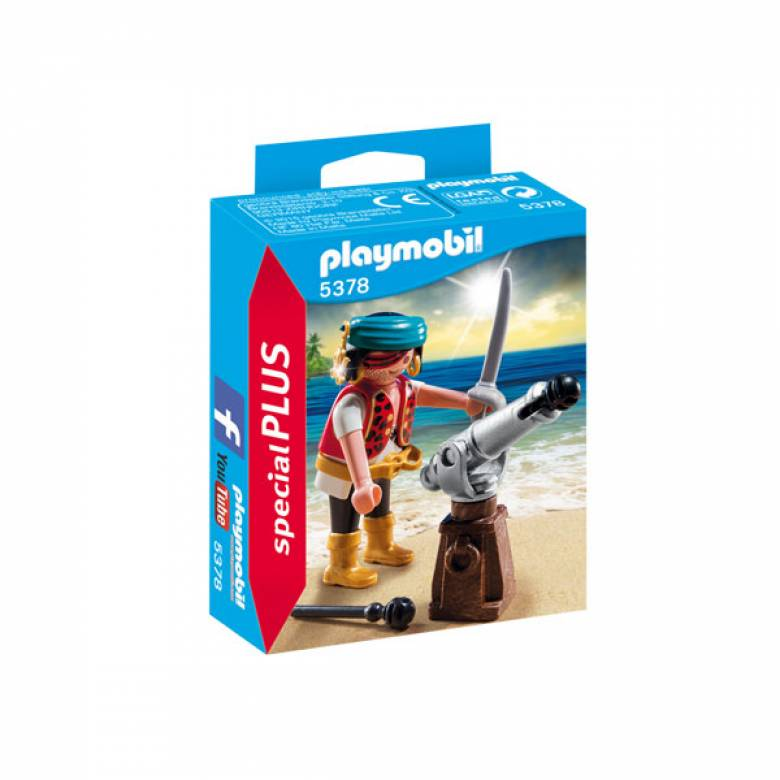 Pirate With Cannon Playmobil 5378