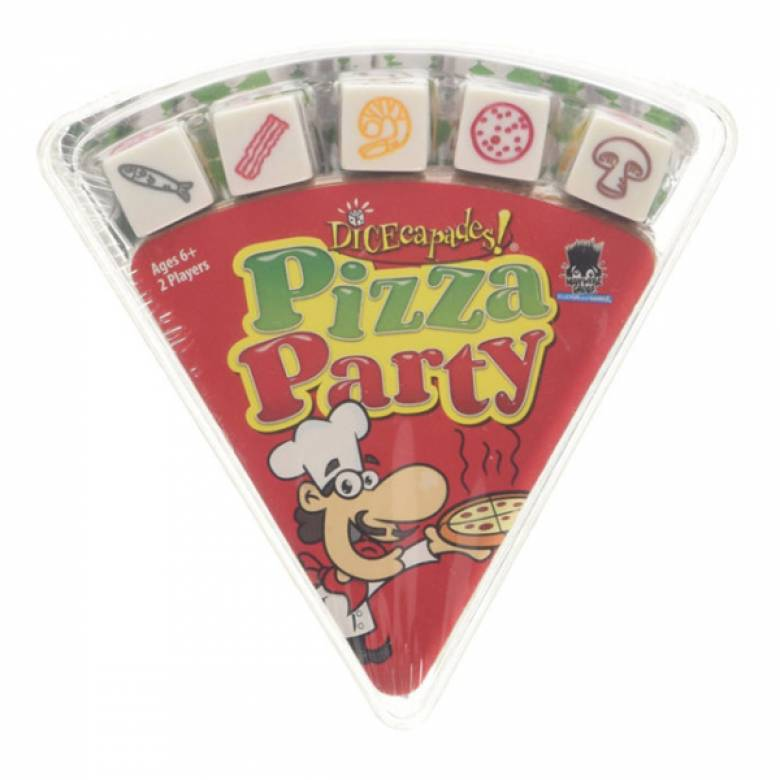 Pizza Party Dice Game 6+