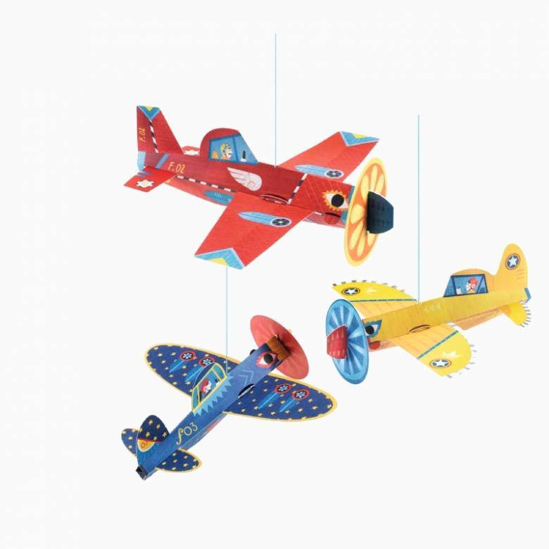 Planes - Hanging Decorations By Djeco