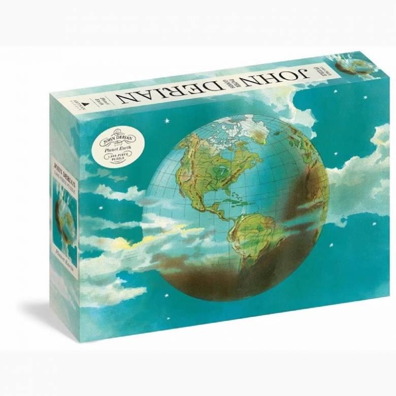 Planet Earth By John Derian - 1000 Piece Jigsaw Puzzle