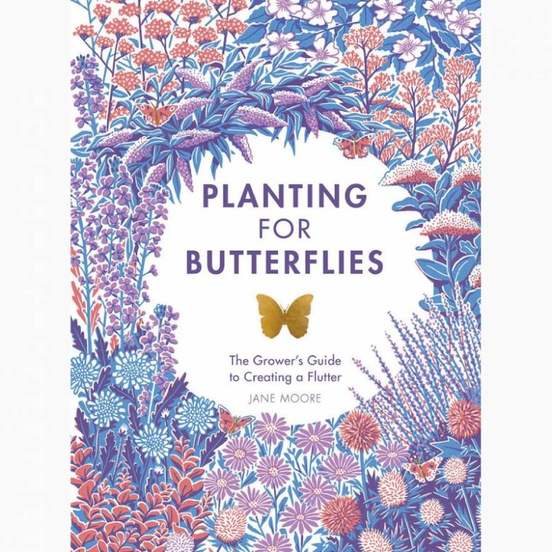 Planting For Butterflies - Hardback Book