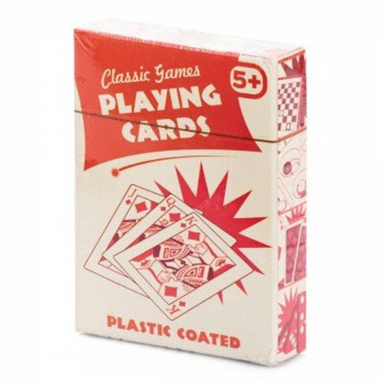 Playing Cards Red And White Box