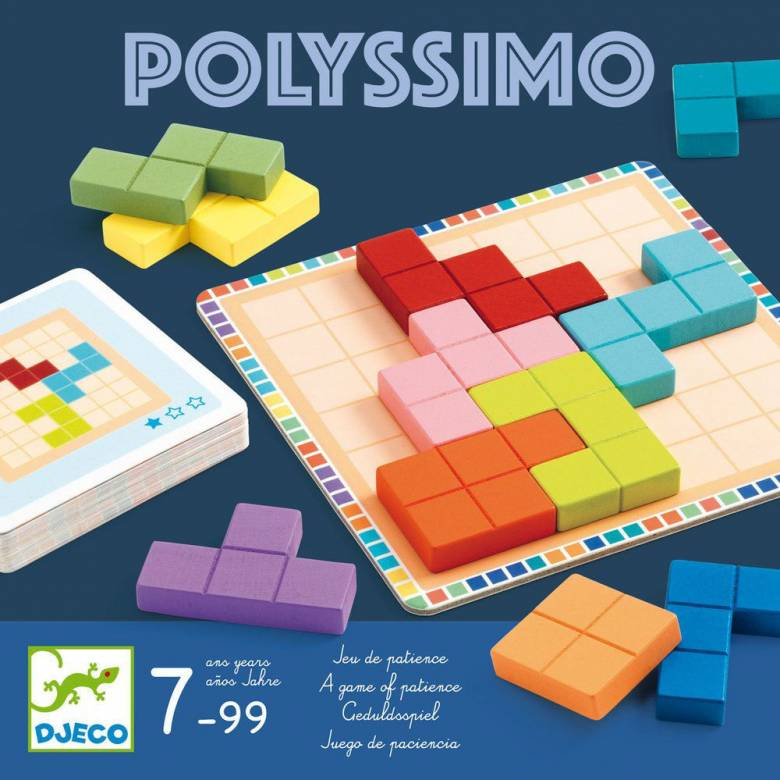 Polyssimo Game By Djeco 7+