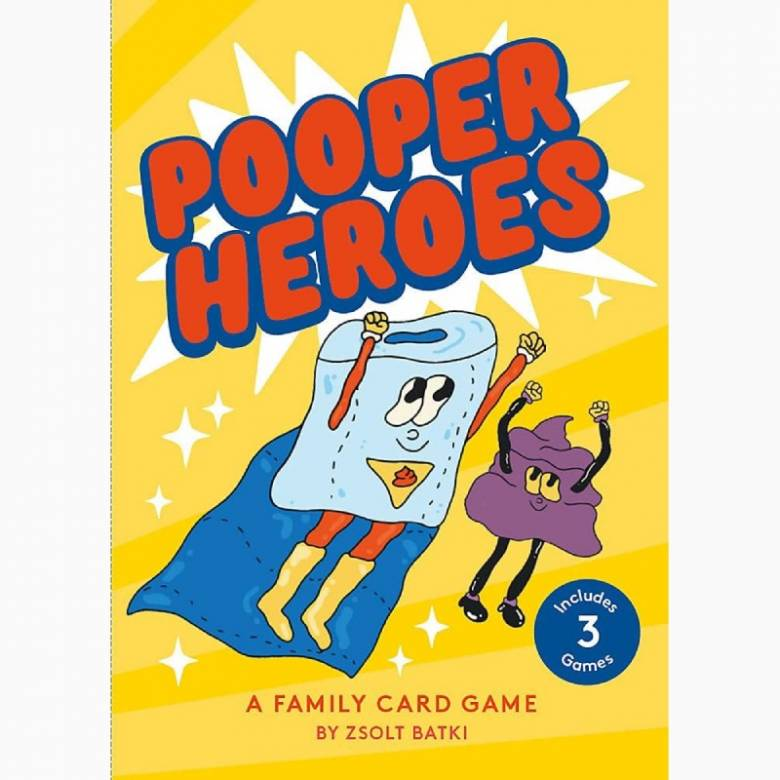 Pooper Heroes: A Family Card Game 5+