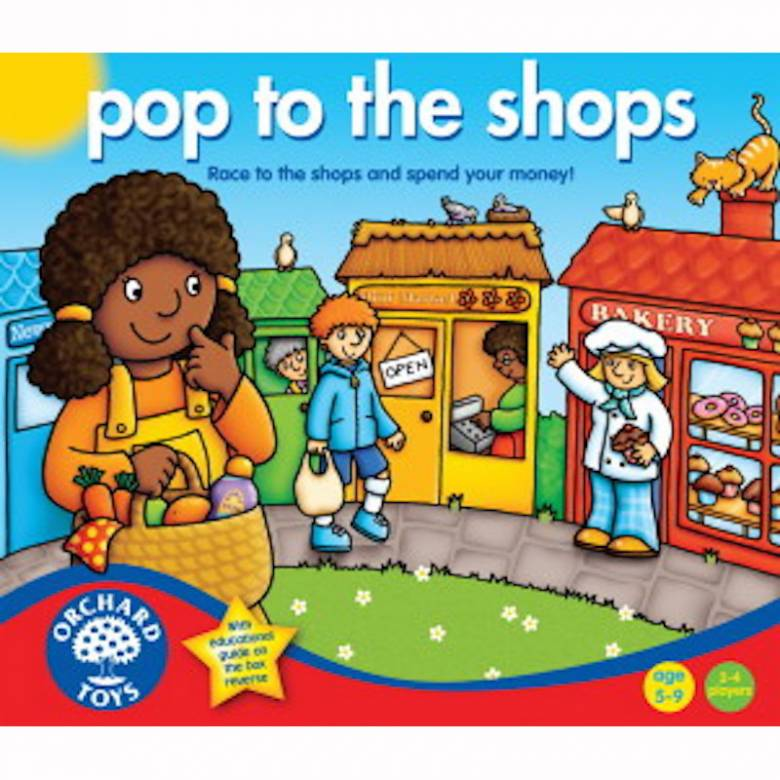 Pop To The Shops Game By Orchard Toys 5+