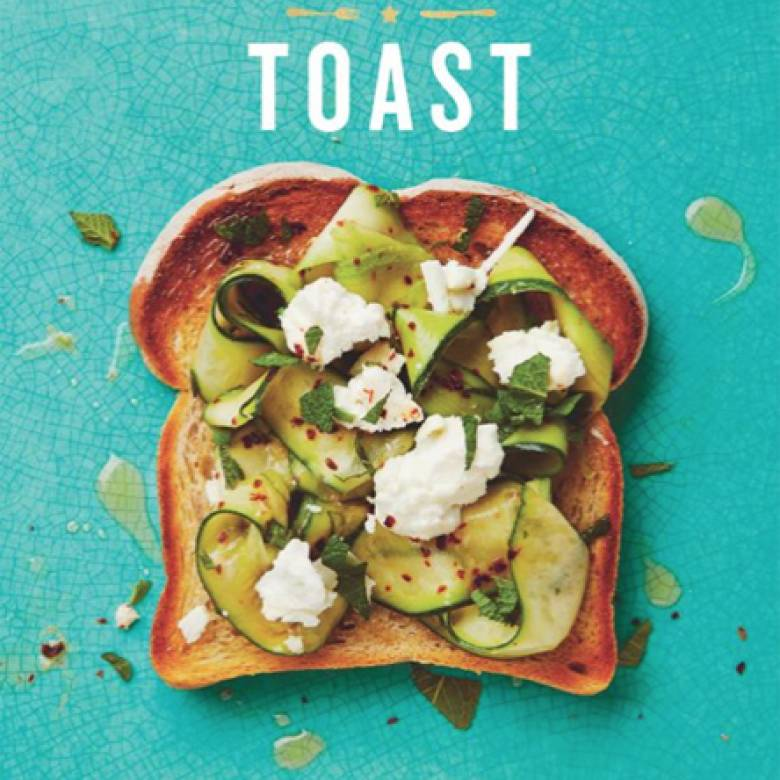Posh Toast Hardback Book