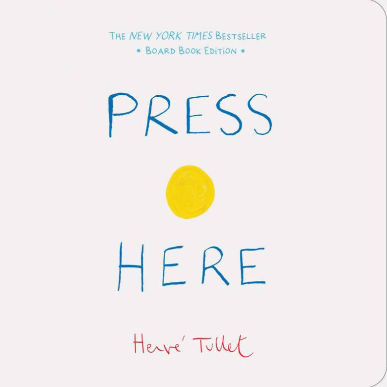 Press Here - Small Board Book
